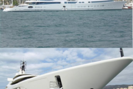 Megayates, glamour en la bahía de Palma