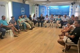 Durán preside la primera reunión de la gestora del PP de Palma