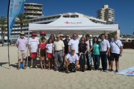El Ayuntamiento de Calvià informa a los barcos fondeados acerca de la importancia de posidonia