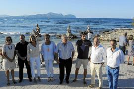 Joan Bennàssar hace puerto en Can Picafort con sus diosas y hadas