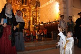Margalida y Mateu, bautizo y primer baile en Santa Margalida