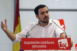 Garzón dice que Pedro Sánchez debe presentarse a la investidura