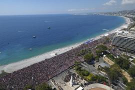 Abuchean al Gobierno francés durante el minuto de silencio por Niza