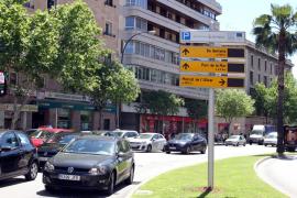 Civitas destaca los paneles dinámicos de aparcamiento de Palma