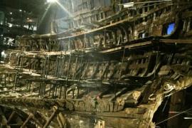 El 'Mary Rose', buque insignia de Enrique VIII, recupera su esplendor