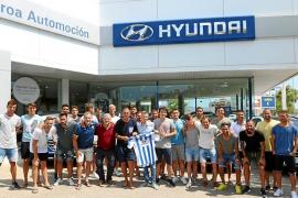Hyundai Proa Automoción, de nuevo, patrocinador oficial del Atlètic Balears