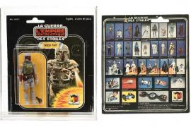 Pagan 31.000 euros por una figura del personaje de «Star Wars» Boba Fett