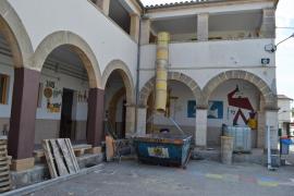Comienzan las obras en el CEIP Mestre Guillem Galmés de Sant Llorenç