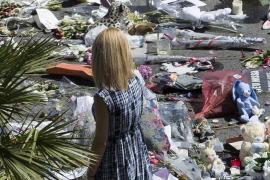Homenaje a las víctimas del homenaje de Niza