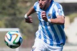 El Real Mallorca consigue la cesión del malaguista Alberto López