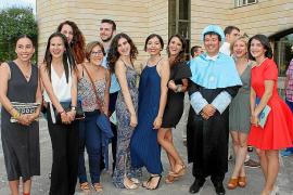 Ceremonia de graduación en Filosofia i Lletres