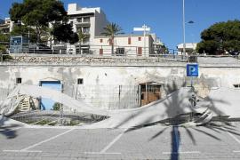 Ports demolerá los varaderos del muelle de Porto Cristo por su mal estado de conservación