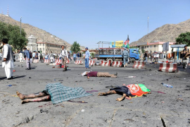 El número de fallecidos en el atentado de Kabul asciende a 80