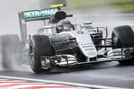Nico Rosberg logra la pole en Hungría; Sainz, sexto, y Alonso, séptimo