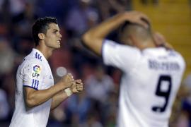 El Real Madrid da un paso atrás ante el Levante