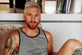 El cambio de 'look' de Leo Messi