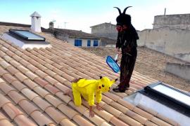Los pokémons también presentes en Sa Revolta de Vilafranca