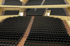 Las butacas pueden retrasar cinco meses la apertura del Palacio de Congresos