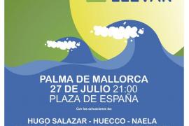 Los artistas de Cadena Dial llegan a Palma con la gira 'Déjate llevar'