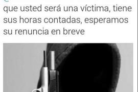 Girauta pide limpiar las redes de «gentuza y violentos» tras recibir amenazas de muerte