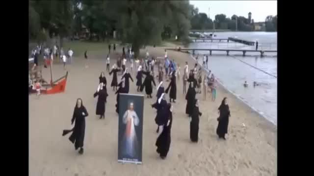Un 'flashmob' divino