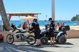 La policía de Calvià tramita 1.568 denuncias por incumplimiento de las ordenanzas municipales