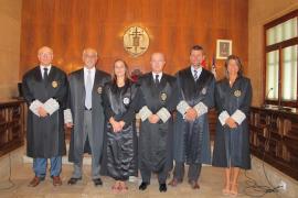 Sonia Martín toma posesión de su cargo en el TSJIB
