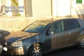 Cuatro detenidos por el robo de un coche en Can Picafort