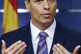 Sánchez mantiene su «no» a Rajoy ante el Rey