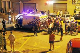 La policía ha levantado este año más de 150 actas de drogas en el parque del Coll d'en Rabassa