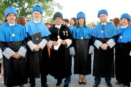 Graduación en la Facultat de Ciències