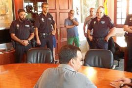 La Policía Local de Sóller exige al alcalde el pago de atrasos y mejores condiciones