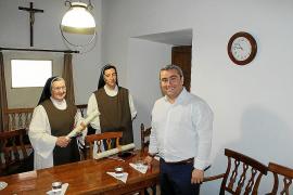 Inca ayudará a las jerónimas en el traslado de las obras de arte a Sant Bartomeu