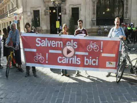 PP y UM acuerdan mantener el carril bici hasta tener otra alternativa al trazado