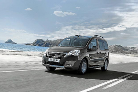 El Peugeot Partner celebra sus 20 primeros años