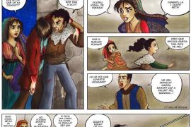 Denuncian la pérdida o sustracción de doce dibujos originales del cómic Almallutx