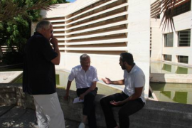 Moneo visita la Fundació Pilar i Joan Miró