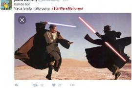 Ingenio y humor en Twitter con Star Wars a la mallorquina