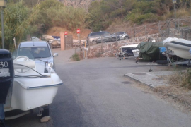 El PI de Valldemossa denuncia la «dejadez» del único aparcamiento municipal del Port