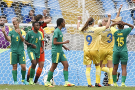 Los Juegos Olímpicos empiezan con el triunfo de Suecia ante Sudáfrica en el torneo femenino de fútbol