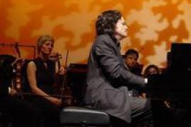 Esther Jiménez y Alfredo Oyáguez Montero, en el Festival de Música de Deià