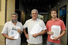 El PSM consigue el aval de 700 vecinos para exigir la suspensión de las obras del puerto