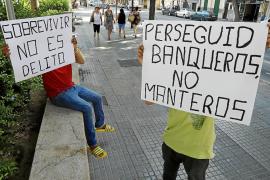 «Los vendedores ambulantes de Palma debemos organizar los apoyos que tenemos»