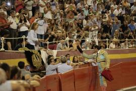 Ponce y Talavante triunfan en el Coliseo Balear