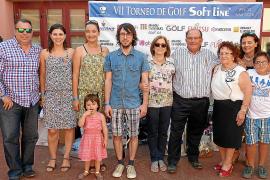 Entrega de premios del torneo de golf Soft Line