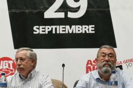 CCOO y UGT advierten que la huelga no será el final del conflicto