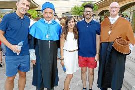 Graduación en la Escola Politècnica Superior de la UIB