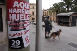 Más de 350.000 personas están llamadas mañana a la huelga en Balears