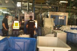 La operación en una lavandería de Palma contra la explotación laboral se salda con cinco detenidos