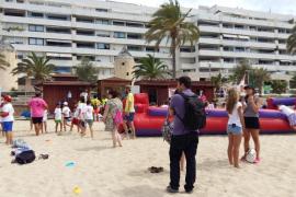500 niños de Palma se convierten en 'Socorristas por un día'